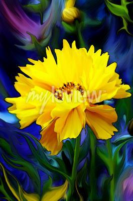 Fotomural Słoneczny Kwiat