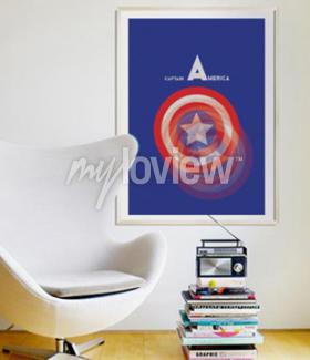 Fotomural Capitão América