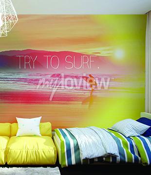 Fotomural Tente Surf