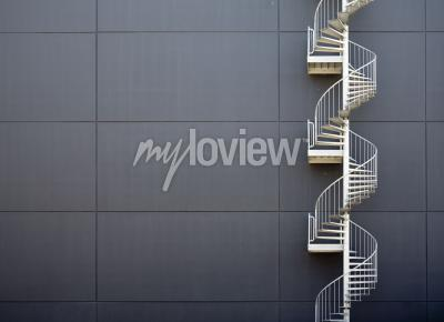 Fotomural Escadas de emergência