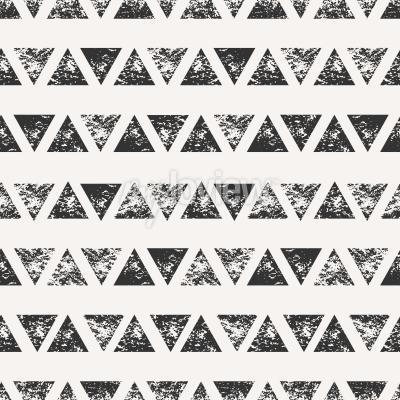 Fotomural Abstratos, seamless, Padrão, estampado, triangular, formas
