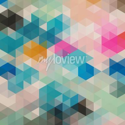 Fotomural Triângulos geométricos 1