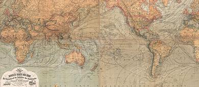 Mapa retro
