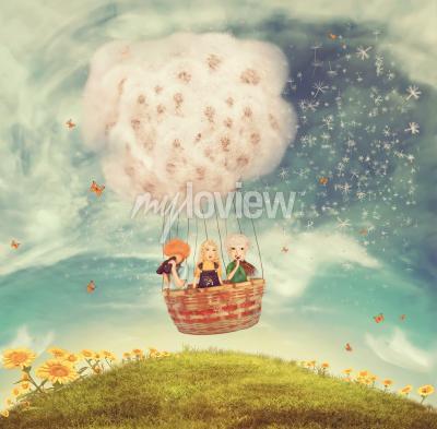 Fotomural Balão mágico