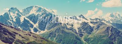Fotomural Inverno, montanhas, panorama