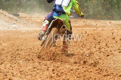 Fotomural Sujeira, escombros, motocross, raça