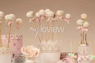 Fotomural Cake pops