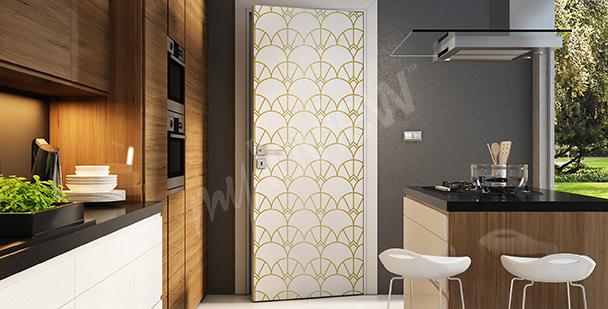Adesivo decorativo para a porta