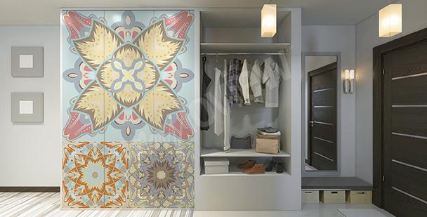 Adesivo em estilo árabe para o armário
