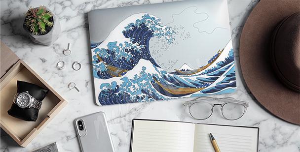 Adesivo Hokusai – A Grande Onda