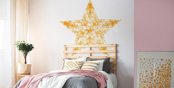Adesivo jovem com estrela