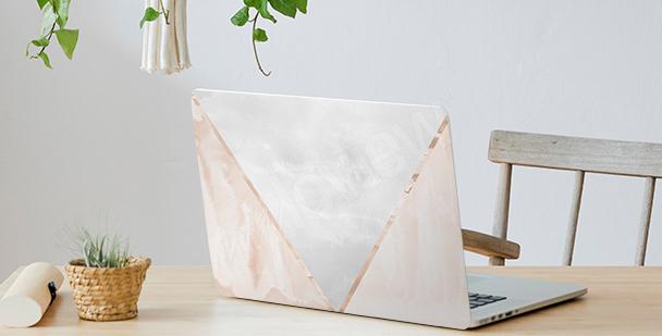 Adesivo minimalista para notebook