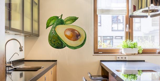 Adesivo para cozinha com abacate