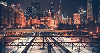 Cidades à noite