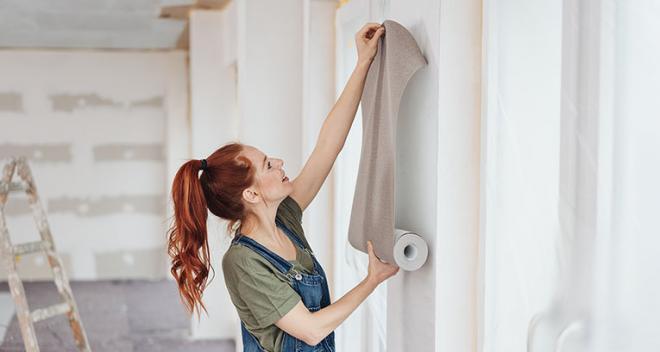 Como colocar papel de parede nos cantos? Guia passo a passo