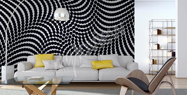 Fotomural abstrato spiral