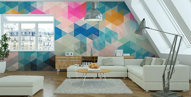 Fotomural abstratos geometricos