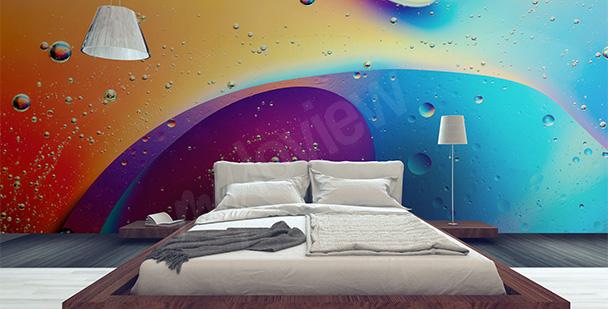 Fotomural multicolor abstração