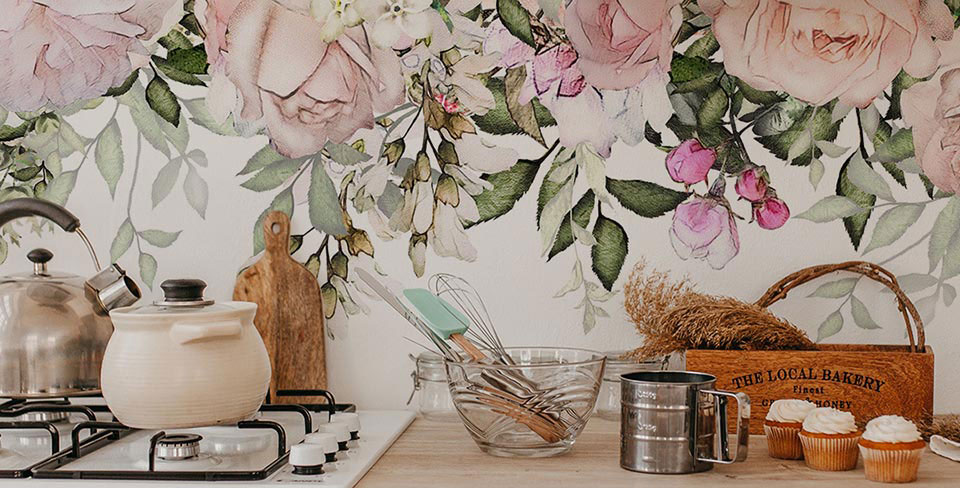 Papel de parede flores de primavera