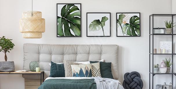 Pôster de plantas para o quarto
