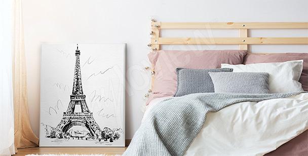 Pôster romântico para o quarto