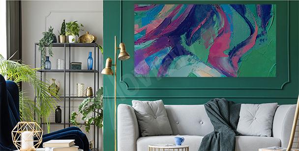 Quadro abstração para a sala