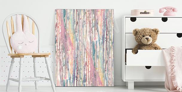Quadro aquarela pastel