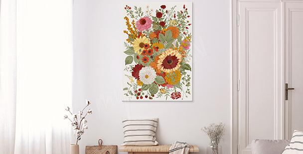 Quadro floral style