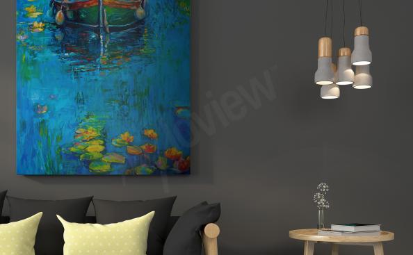 Quadro impressionismo rio